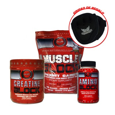 Pack Aumento Masa Muscular