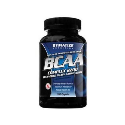 dymatize BCAA Complex 2200 200 Cápsulas
