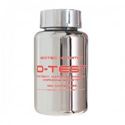 Scitec Nutrition D-Test 120 Capsulas