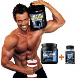 Pack 3 Aumento Muscular Dymatize