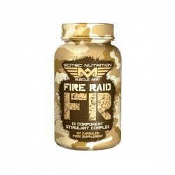 Muscle Army Fire Raid 90Cap