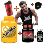 Pack Aumento Masa y Fuerza Muscular