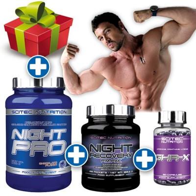 Pack Crecimiento Muscular Nocturno