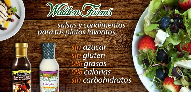 Salsas y condimentos Walden Farms